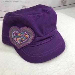 Purple Heart patch hat